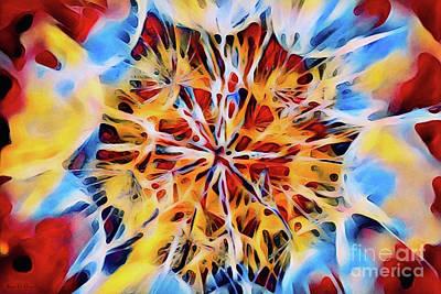 Medow Dandelion Poster