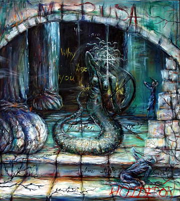 Medusa Poster by Heather Calderon