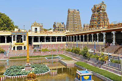 Meenakshi Sundareshwar Temple, Madurai Poster