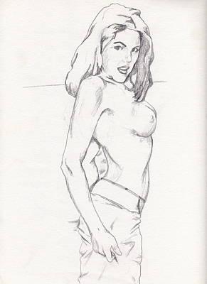 Megan - Sketch Poster