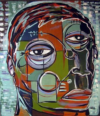 Melancholy Man Poster by Robert Wolverton Jr