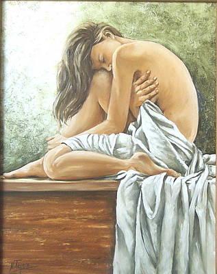 Melancholy Poster by Natalia Tejera