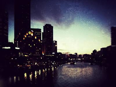 Melbourne Australia Poster by Sarah Coppola