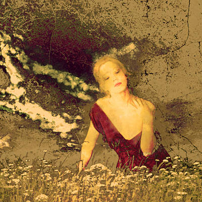 Mellissa At Sunset Poster
