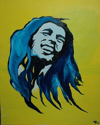 Mellow Marley Poster by Matt Burke