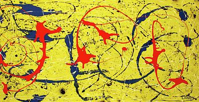 Mellow Yellow Poster by International Artist Brent Litsey