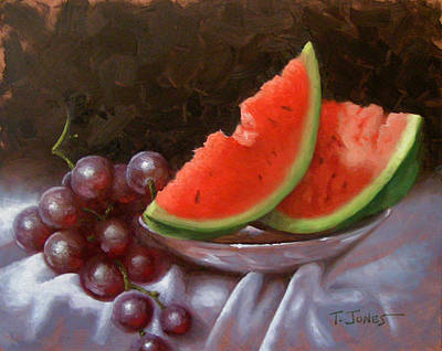 Melon Slices Poster