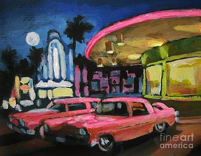 Mels Drive In Two Poster by John Malone