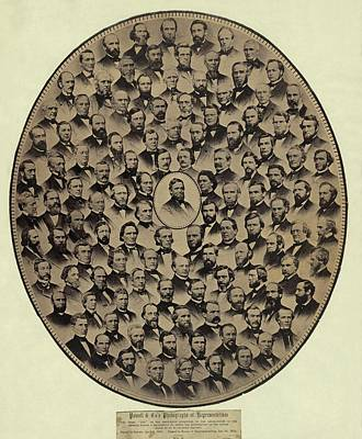 Members Of The U.s. House Poster by Everett