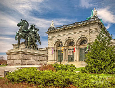 Poster featuring the photograph Memorial Hall - Fairmount Park by Nick Zelinsky