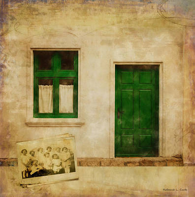 Poster featuring the painting Memories Of Irish Green by Bellesouth Studio
