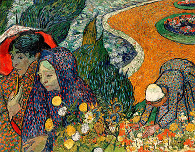 Poster featuring the painting Memory Of The Garden At Etten by Van Gogh