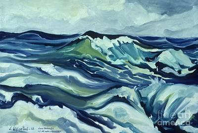 Memory Of The Ocean Poster