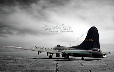 Memphis Belle Boeing B-17 Flying Fortress Poster