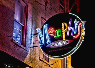 Memphis Music Poster