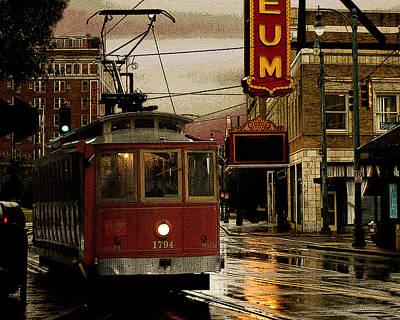 Memphis Tennissee Streetcar Poster