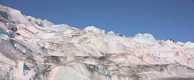 Mendenhall Glacier Panoramic Poster by Kristin Elmquist