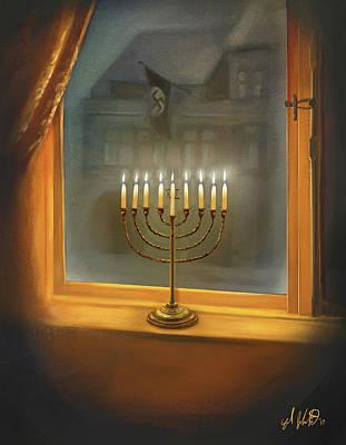 Menorah In The Darkness Poster