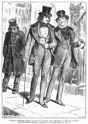 Mens Fashion, 1880 Poster by Granger