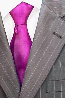 Men's Suit Poster by Boyan Dimitrov