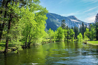 Merced River In Yosemite Valley Poster