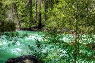 Poster featuring the photograph Merced River by Michael Cleere