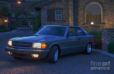 Mercedes 560sec Poster by Gunter Nezhoda