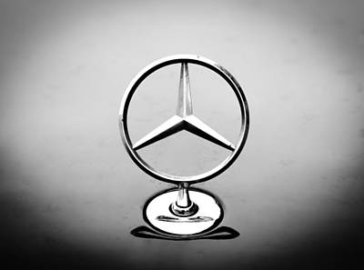 Mercedes Benz Logo Poster