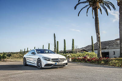 Mercedes Benz S63 Coupe Poster