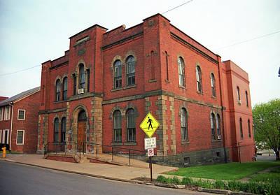 Mercer, Pa - Vintage Building 2008 Poster