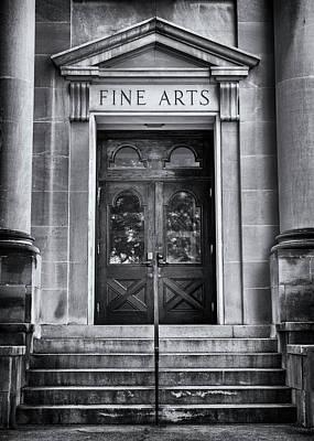Mercer University - Fine Arts Door #3 Poster by Stephen Stookey