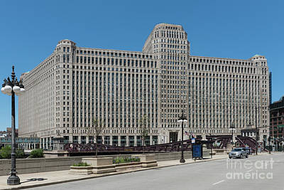Merchandise Mart Poster by David Levin