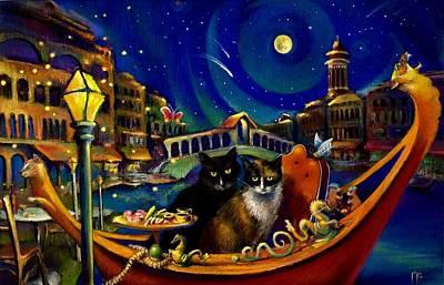 Merchants Of Venice Poster by Paul Birchak