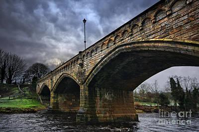 Mercury Bridge, Richmond Poster by Nichola Denny