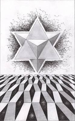 Merkabah Study IIi Poster by Geoffroy Dextraze