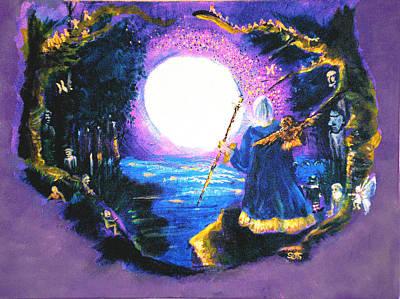 Merlin's Moon Poster