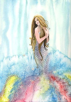 Mermaid In The Mist Poster