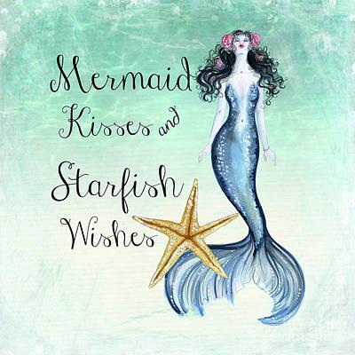 Mermaid Kisses Poster