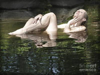 Mermaid Poster by Marat Essex