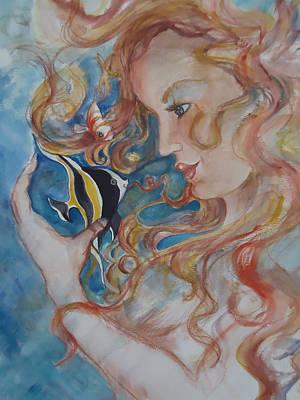Mermaids Kiss Poster