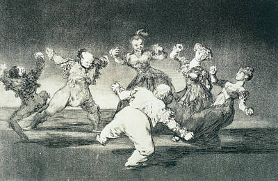 Merry Folly Poster by Francisco Goya