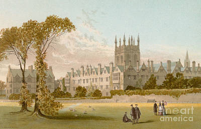 Merton College, Oxford Poster by English School