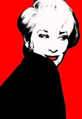 Meryl Streep  Poster by Naz Cigdem