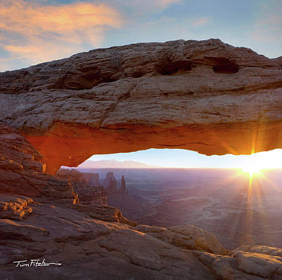 Mesa Arch, Canyonlands, Utah Poster