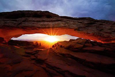 Mesa Arch Sunrise Poster