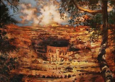 Mesa Verde Colorado Poster
