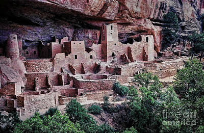 Mesa Verde Poster by Heather Applegate