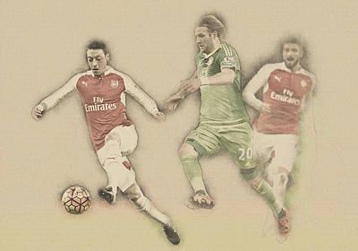 Mesut Ozil Poster
