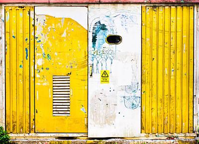 Metal Doors Poster by Tom Gowanlock