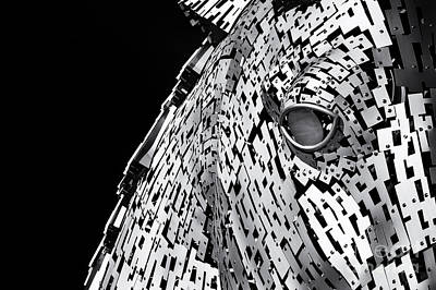 Metal Horse Abstract Poster